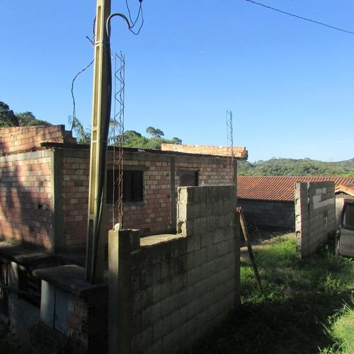 casa em fase de acabamento, ac/ veiculo+ parcelas/ref: 04621