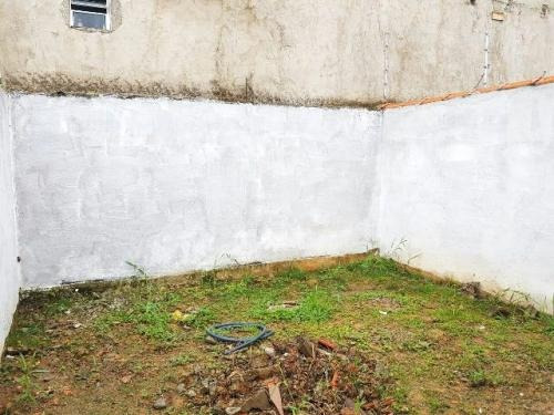 casa em fase de acabamento no jardim guacyra, em itanhaem,