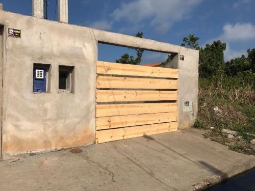 casa em fase de acabamento no jardim guacyra, em itanhaem