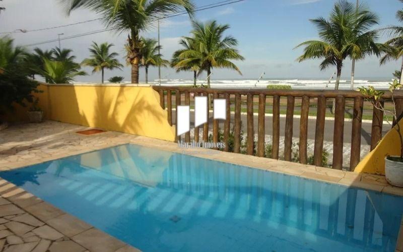 casa em frente ao mar, em praia grande s.paulo.
