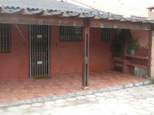 casa em itanhaém, 2 dormitórios, 100 mts do mar - ref 2615-p