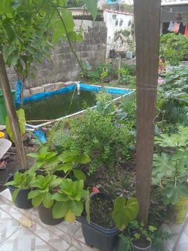 casa em itanhaém, 2 dormitórios, apenas 100 mil - ref 3361-p