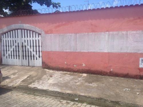 casa em itanhaém, a 400m da praia, 2 quartos, terreno 260m²