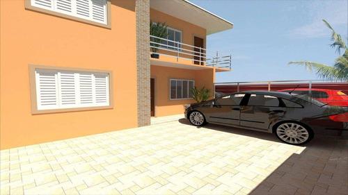 casa em itanhaém bairro balneário tupy - v414