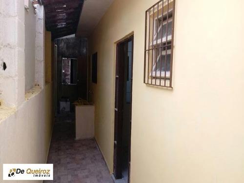 casa em itanhaém, com sobrado no mesmo quintal, bairro suarão, geminada, lado morro - 1988 - 34283030