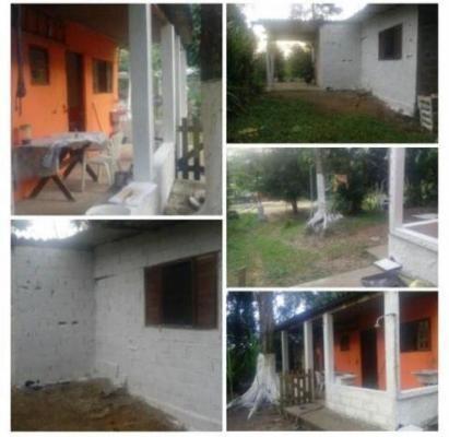 casa em itanhaém lado serra 3km da pista com 2 dorm 3609