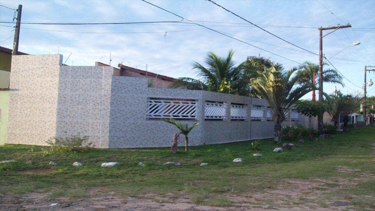 casa em itanhaém na praia, sossego e lazer - c5723