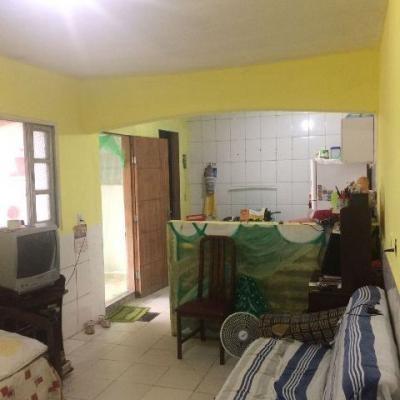 casa em itanhaém, quintal grande, terreno 250m², 1 quarto