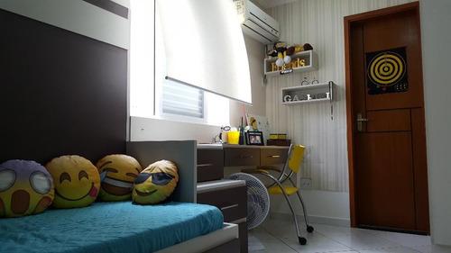 casa em marapé, santos/sp de 182m² 4 quartos à venda por r$ 849.000,00 - ca98642