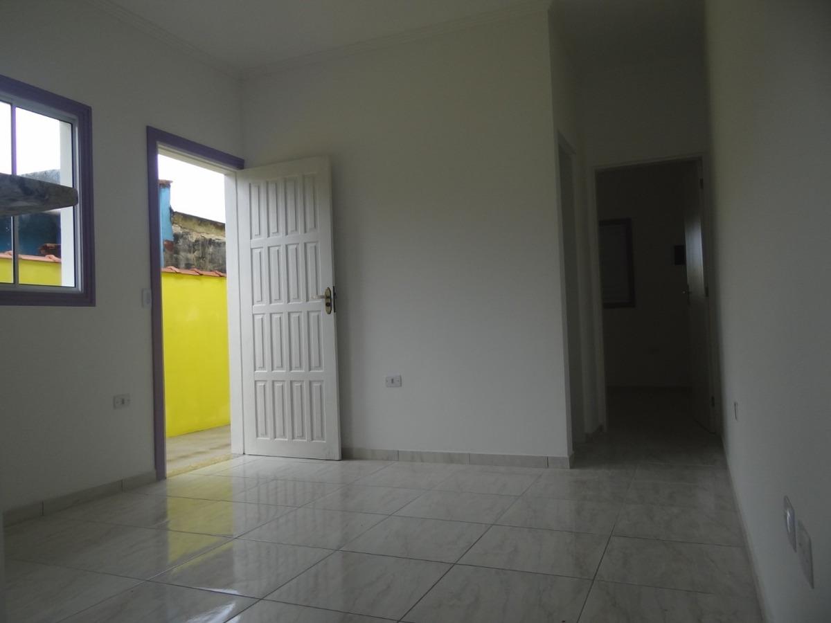 casa em mongaguá a 600 metros da praia, quintal ref: 7663 c