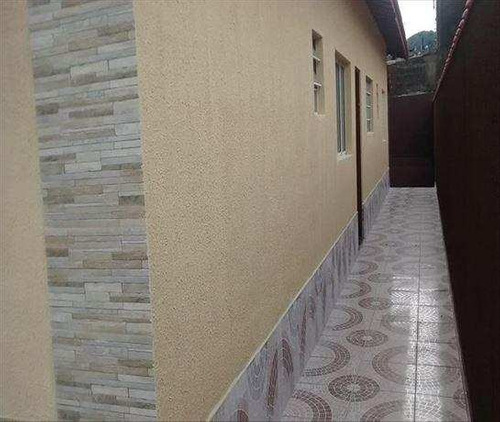 casa em mongaguá bairro balneário jussara - v193