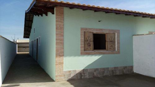 casa em mongaguá bairro balneário jussara - v459