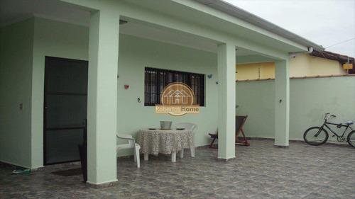 casa em mongaguá bairro balneário santa eugênia - v127