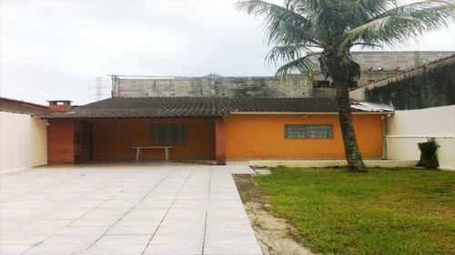casa em mongaguá bairro vila vera cruz - v384