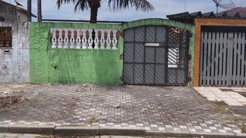 casa  em mongaguá com 01 dormitório 600 metros praia n5863