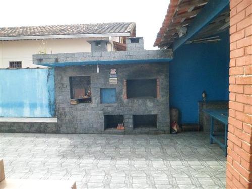 casa em mongaguá com piscina e churrasqueira - n4846