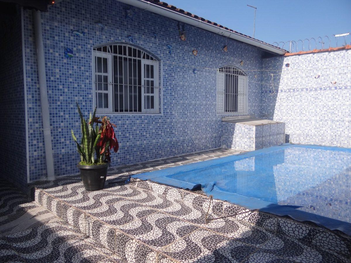 casa em mongaguá com piscina r$ 212 mil - ref 5975 c