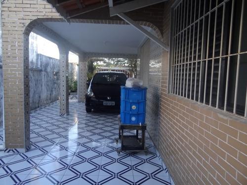 casa em mongaguá de lote inteiro r$ 320 mil n6213