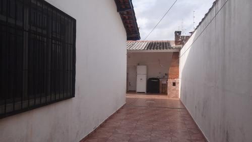 casa em mongaguá lado praia com piscina  - c5854