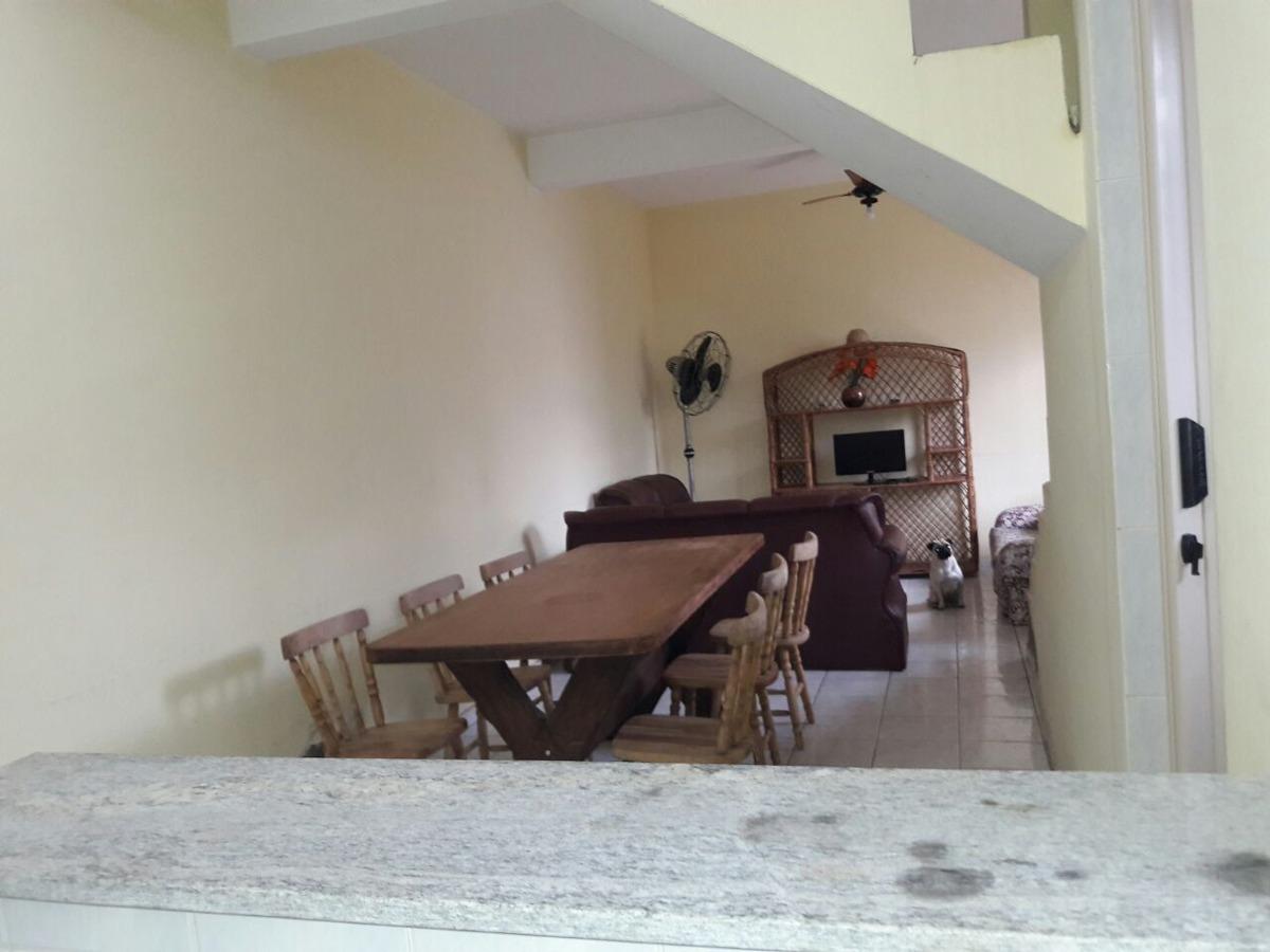 casa em  mongaguá lindo sobrado na praia!! n6027