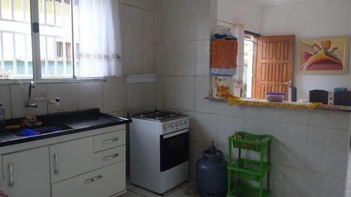 casa em mongaguá... no bal. itaguaí  v6049