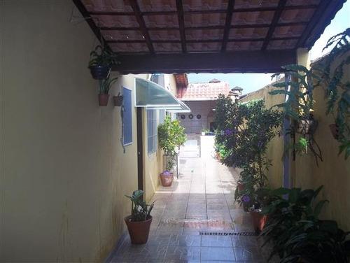 casa em mongaguá, ótima para morar,  ref. 5478