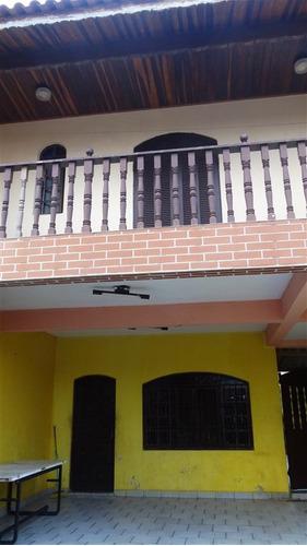 casa em mongaguá pertinho da plataforma com 3 dormitórios!!!