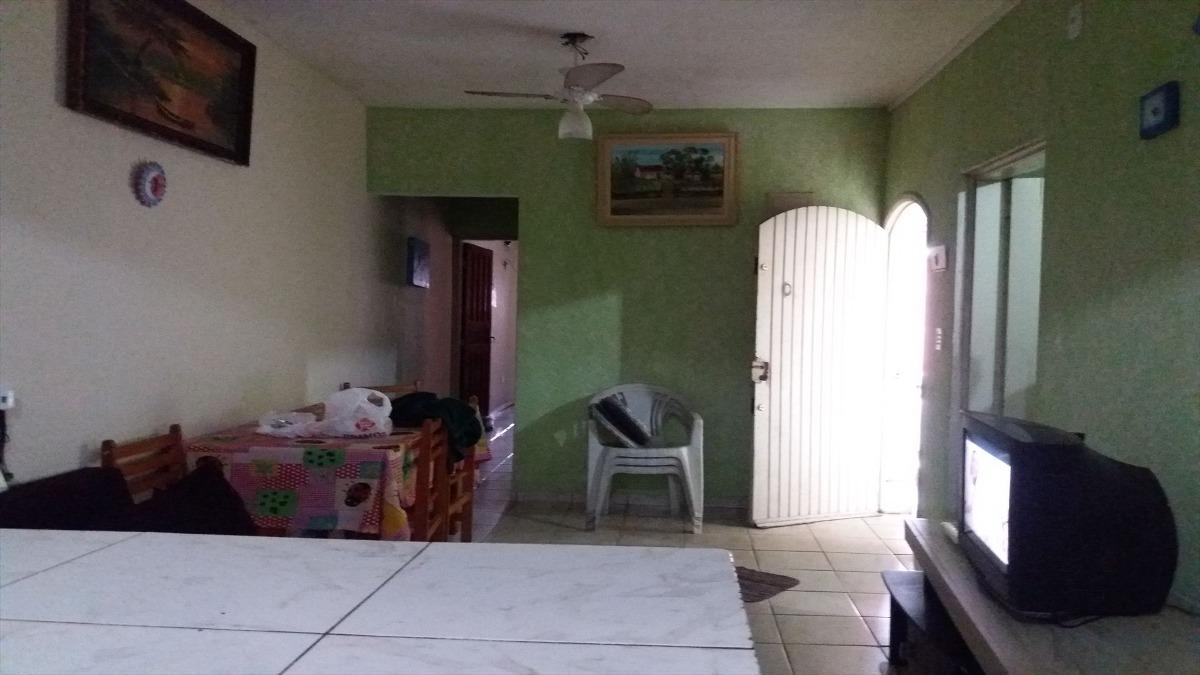 casa  em mongaguá quintal grande   c5857