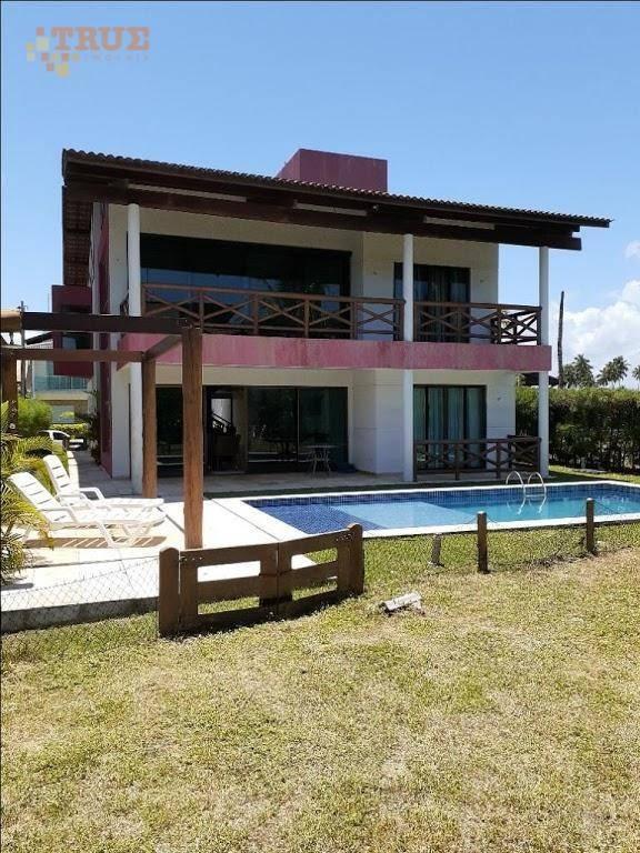 casa em muro alto 310 m² por r$ 1.600.000 - ipojuca - porto de galinhas/pe - ca0349