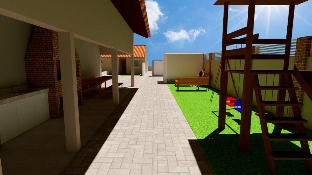 casa em neópolis, gravataí/rs de 49m² 2 quartos à venda por r$ 139.000,00 - ca349154