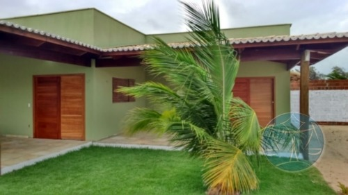casa em pium com  02 suites - v-8200