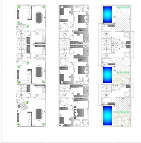 casa em ponta da praia, santos/sp de 211m² 3 quartos à venda por r$ 910.000,00 - ca275941