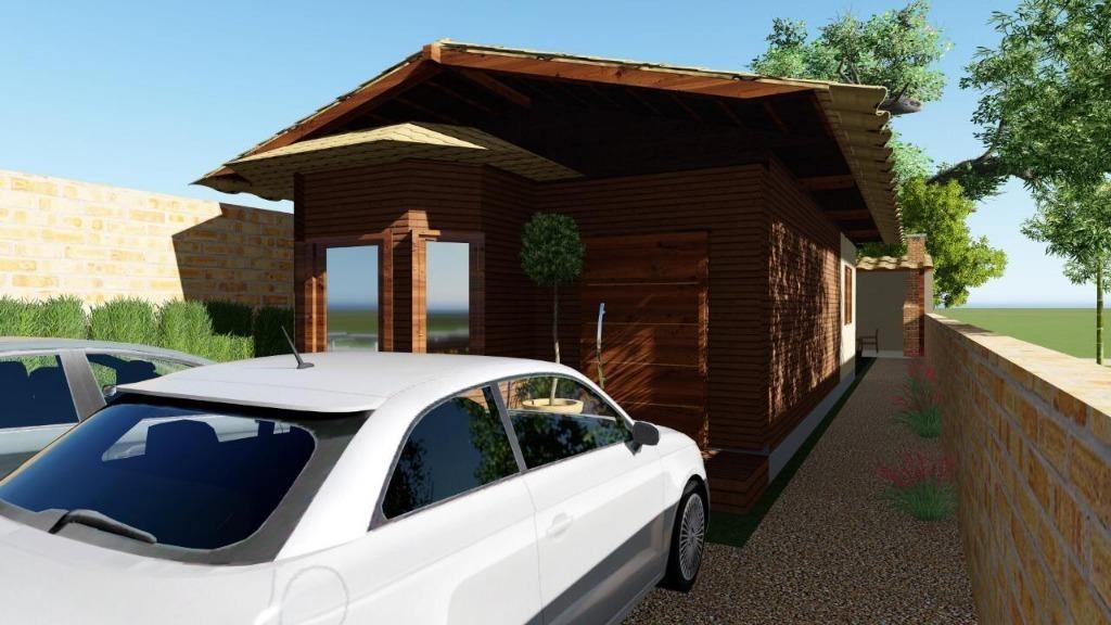casa em praia do sonho, palhoça/sc de 64m² 2 quartos à venda por r$ 265.000,00 - ca186568