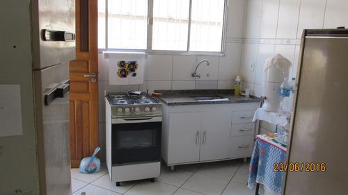 casa em praia grande, no bairro boqueirao - 2 dormitórios