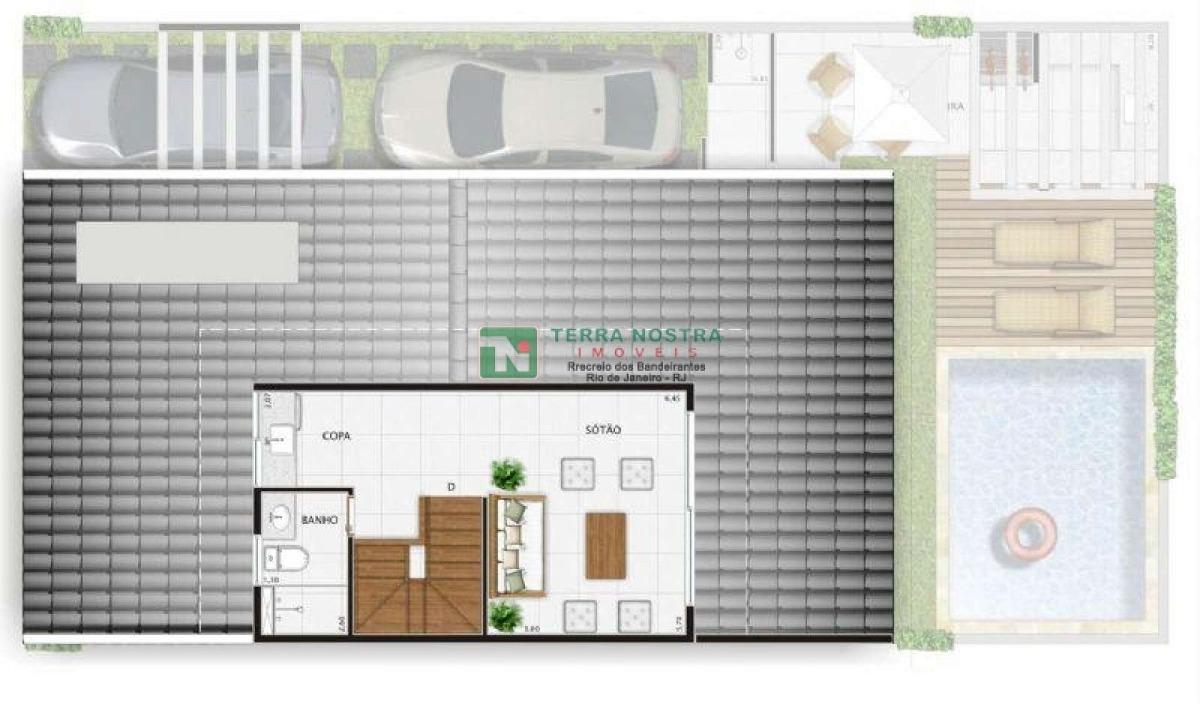 casa em recreio dos bandeirantes  - 75.2677 rec