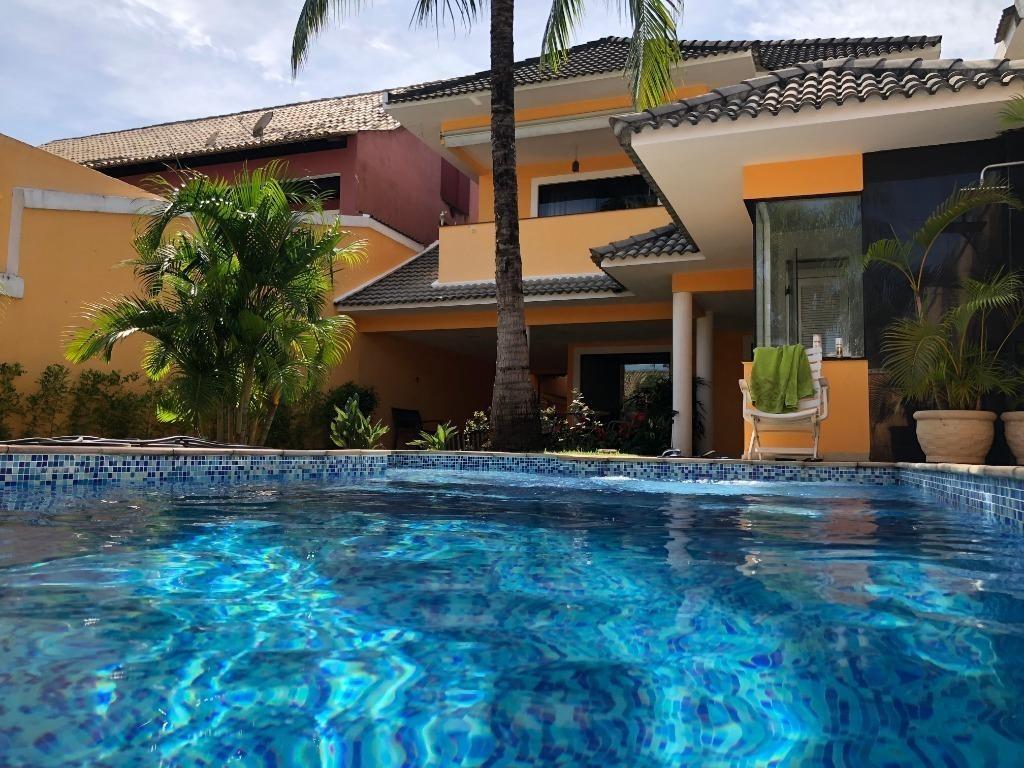 casa em recreio dos bandeirantes, rio de janeiro/rj de 325m² 4 quartos para locação r$ 8.000,00/mes - ca229668