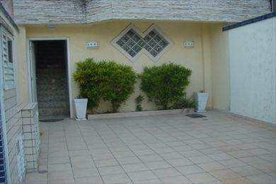 casa em santos bairro marapé - v7529