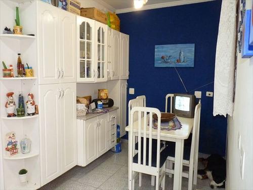 casa em santos, no bairro boqueirao - 3 dormitórios