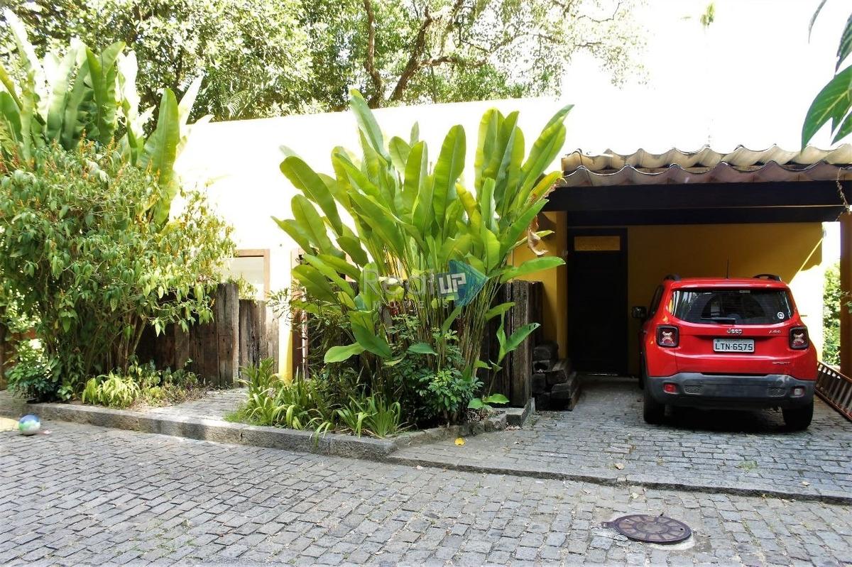 casa em são conrado junto ao verde com segurança total próximo da praia - 14531