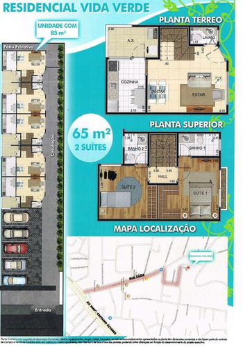 casa em são paulo - 85.0 m2 - código: 1839 - 1839
