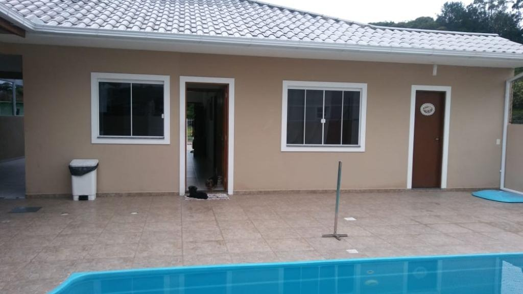 casa em sul do rio, santo amaro da imperatriz/sc de 130m² 3 quartos à venda por r$ 440.000,00 - ca238667