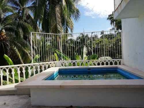 casa en acapulco alberca vista al mar para 12 personas