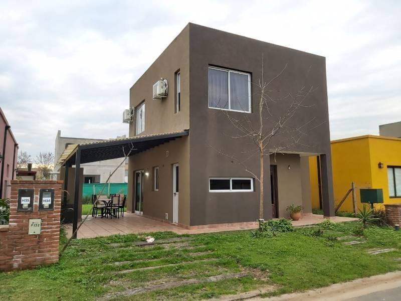 casa en alquiler barrio cerrado el aljibe