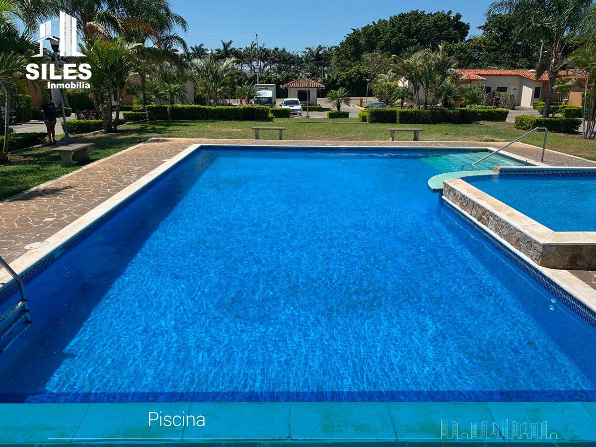 casa en alquiler condominio piscina