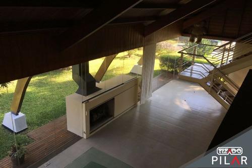 casa  en alquiler ubicado en highland park cc, pilar y alrededores