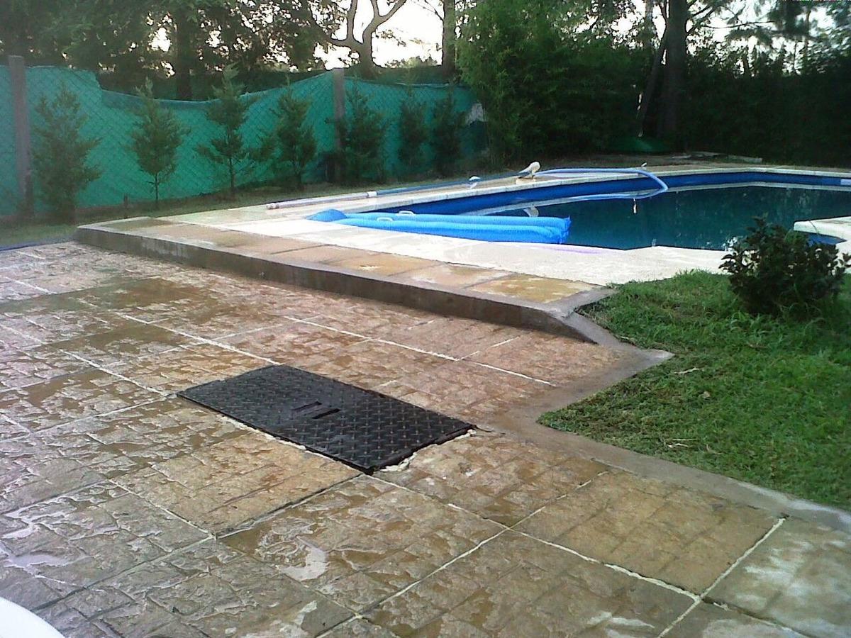 casa en barrio privado con piscina!, 4 ambientes