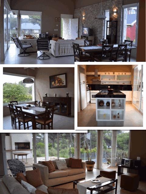 casa en carilo, 5 ambientes con pileta climatizada