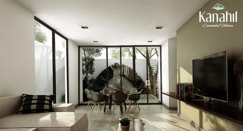 casa en chuburná, mérida con seguridad. residencial kanahil.
