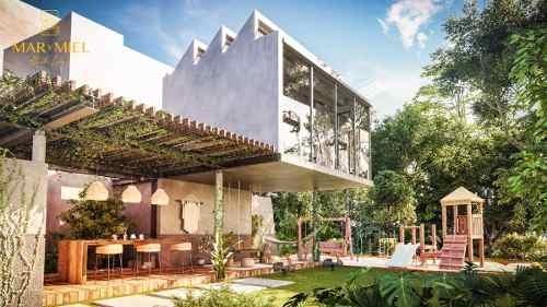 casa en condominio en aldea zamá, tulum