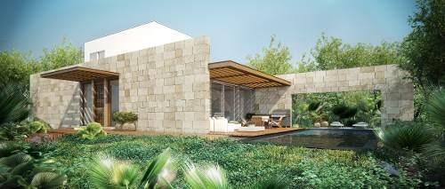 casa en condominio playa del carmen morgana lujo y precio
